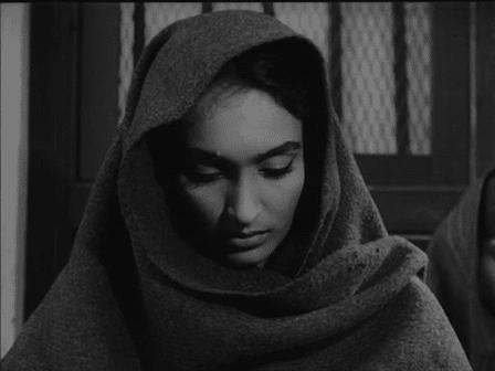 Kalyani as the prisoner